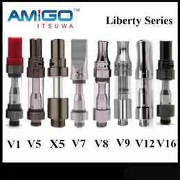 Distributeur officiel iTsuwa AMIGO Liberty Cartouches V1 V5 X5 V7 V9 V12 V16 en céramique Vaporisateur Pour Max Vertex Vmod C5 Batterie 100% Original ? partir de fabricateur