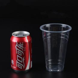 Wholesale Disposable Plastic Tea Cups - Plastic cup disposable cup milk tea cup plastic juice cold drink cup.
