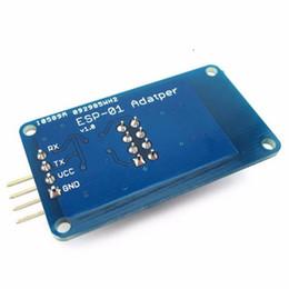 Wholesale Mini Wireless Camera Board - ESP8266 ESP-01 ESP01 ESP-01S Serial WiFi Wireless Shield Adapter Module 3.3V 5V Serial Board For Arduino UNO R3 Microcontroller