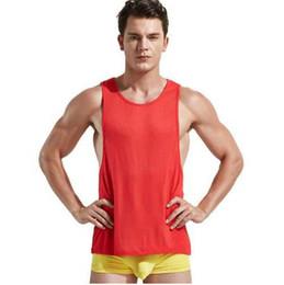 T-shirts taille basse en Ligne-Nouveaux débardeurs pour hommes, Gilet pour homme à emmanchures basses, Débardeur sexy pour homme, Tee-shirts sexy pour homme