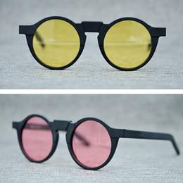 328dc44ff9af9 2018 Retro small round frame fashion sunglasses for men Vintage eyewear  women acetate eyeglasses polarized lens oculos de graus