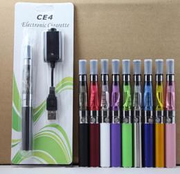 Canada Ego CE4 Cigarette électronique Blister kit ce4 atomiseur 650mah 900mah 1100mah batterie en blister pack diverses couleurs bonne qualité DHL rapide gratuit cheap electronic cigarette ce4 dhl Offre