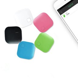 Wholesale Alarms For Sale - Square Shape Wireless Bluetooth Anti-lost Alarm GPS Tracker Itag Key Finder Voice Recording Anti Lost Selfie shutter for iphone 8 x s9 sale
