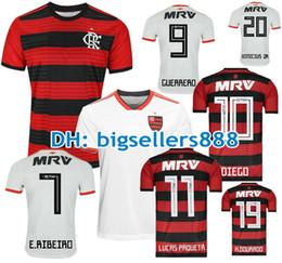 Wholesale sports shirt women - Camisa flamengo jersey 2018 2019 Chandal Flamengo Jersey 18 19 Brasil Flemish Away home ELANO HERNANE Soccer Jerseys sports shirt WOMEN