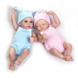 Wholesale 24 Inch Figure - Sweet Reborn Baby Dolls Lovely 11 Inch Handmade Real Baby Looking Dolls Boys and Girls' Partner