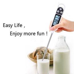 Venta caliente Termómetro de Cocina Digital Para Carne Leche de Agua Cocina Sonda de Cocina BARBACOA Horno Electrónico Termómetro Herramientas de Cocina desde fabricantes