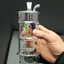 fish pipes 2018 - Four point claw fish filter glass water bottle Glass Bbong Wwater Pipe Titanium nail grinder, Glass Bubblers For Smoking Pipe Mix Colors