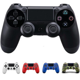 Wholesale Android Video Games - Newest Wireless Bluetooth ps4 controller Game 7 colors Controller for PlayStation 4 PS4 Joystick for Android Video computer Games with box