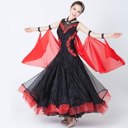 0207509f2 Big Wing Ballroom Dance Competition Dresses for Women Jazz tango waltz Dance  Dress for Performance Skating Dress Competition 89