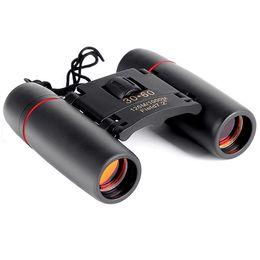 Wholesale wholesale binoculars - Mini Binoculars 30X60 Folding with Night Vision Binoculars Zoom Optical Len Telescope for outdoor bird watching travelling hunting camping
