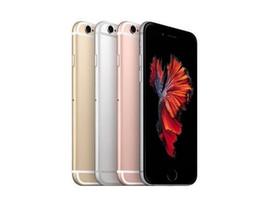 Beachten sie die vordere kamera online-100% ursprüngliche 4.7inch 5.5inch Apple iPhone 6S 6S plus 12.0MP Kamera iOS 9 ohne Note Identifikation 4G LTE freigesetzte geüberholte Handys DHL geben frei