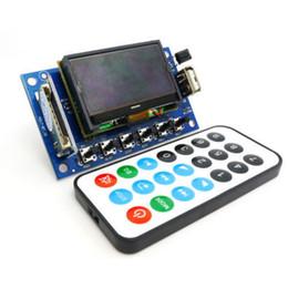 Freeshipping LCD 12v MP3 Player Decording Moulde WMA WAV decoder audio board FM Radio Bluetooth Audio Receiver MP3 KIT DIY BT Decoding board da altoparlante radiofonico fornitori