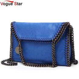 Wholesale Fold Over Purse - New Chain Single Shoulder bag Clutches Fold Over Purse stella Woven Small Ladies Handbags Bolsas Feminina Crossbody Bags LB387