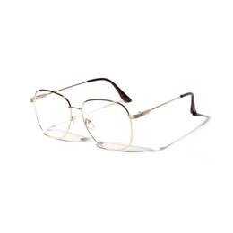 3b644ec43b ZICK BRAND Fashion Metal Eyeglasses frame For Women Men Clear Lens Glasses  Oversized
