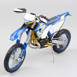 Wholesale Bicycle Auto - Scala 1:12 KTM HUSABERG Husqvarna TE300 Moto Motocross auto Bike off road superbike Supermoto enduro Corsa Diecast model