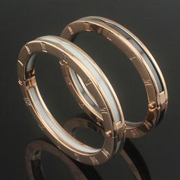 2019 il braccialetto all'ingrosso tre colore Braccialetti ceramici di alta qualità per donna Bracciali in ceramica per donna in oro bianco e nero numerati in oro rosa
