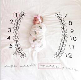 Wholesale newborn wrap fabric - baby photography background props baby photo fabric backdrop ins blankets wraps Newborn Photography Props Baby Blankets KKA4194