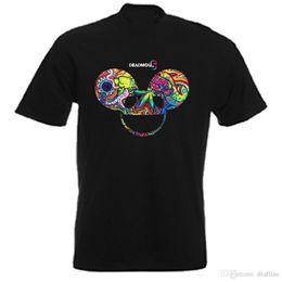 Diseño de arte online-Camisas de calidad New StyleDEADMAU5 ** NEW ** ARTWORK DESIGN T SHIRTSTortas de manga corta con cuello en O camisetas