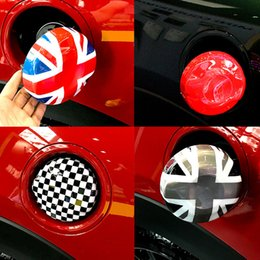 Argentina ABS Union Jack Flag Car Fuel Tank Cap Cover Sticker Decoration Case para MINI Cooper S 2.0T F54 F55 F56 2014 2015 2016 2017 Styling Suministro