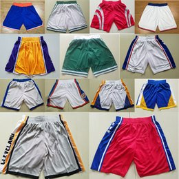 Wholesale flash pants - BASKETBALL SHORTS PANTS EMBROIDERED STITCHED JERESEY CAMISETA HIGH QUALITY HOME AWAY LEBRON JAMES KEVIN DURANT STEPHEN CURRY HARDEN IRVING
