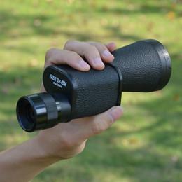 Диаметр линзы онлайн-Оптовая 12x45 монокуляр телескоп русский металл высокой мощности HD рука большой объектив диаметр Spyglass кровянистые выделения область