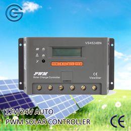 Wholesale Battery Solar 48v - EPEVER PWM Solar Charge Controller VS-BN Series 12V 24V 36V 48V Auto Work EP Solar Panel Battery Charge Controller (10A 20A 30A 45A 60A)