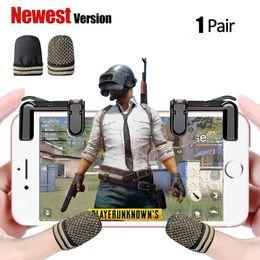 Controlador de jogo móvel (manga de dedo), manga de dedo de condução, antiperspiring e aumentar a sensibilidade para PUBG Mobile Game Joystick de Fornecedores de quadcopter hubsan