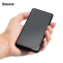 Canada 10000 mAh Banque De Puissance Pour iPhone Xiaomi Double USB Slim Powerbank Portable Batterie Externe Chargeur De Téléphone Portable Poverbank Offre