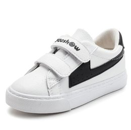 2018 spring and autumn new children s casual shoes PU leather sports shoes  boys and girls comfortable breathable warm small white shoes snea f3dc3fd9274d5