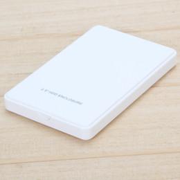 disco rigido bianco Sconti 2016 Nuovo involucro esterno per disco rigido USB2.0 Sata Durable Portable Case 2.5