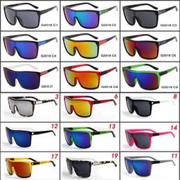 Wholesale Reflective Sunglasses - FLYNN Brand Designer Sunglasses for man and Women Sunglasses Men Reflective Coating Square Sun Glasses Women outdoor 6 colors sun glasses