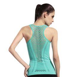 Wholesale Female Gym Clothes - Women Yoga Shirts Tops Women Fitness Sports Woman Gym Clothes Sport Shirt For Gym Running Mujer Running Shirt Female