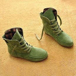 Botas de otoño baratas online-Otoño Moda Mujer Botas Casual Tela de Algodón High Top Round Toe Fur Boots Zapatos de Tobillo Barato Martin Boots X1140 35