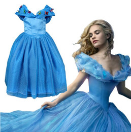 Wholesale Childrens Clothes Free Shipping - free ship by DHL Dresses Wedding Cinderella Girl Party Dresses Princess Dress Baby Kids Clothing Butterfly Childrens clothing Kids Costumes