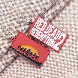 2019 tours clave Juego de alfabeto de llavero de moda Red Dead Redemption 2 llavero aleación llavero cadena regalo de Navidad para los fanáticos del recorrido recuerdo tours clave baratos