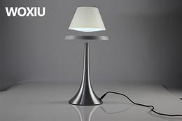 WOXIU светодиодные настольные лампы магнитные современная модель новинка освещение плавающей высокие технологии арт-шоу ремесел домашнего отдыха декор от Поставщики магнитный стол