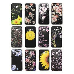 Schönes designtelefon online-Handy zurück Fall Deckung glatte Öloberfläche Design Mode schöne Blumen 46 Modelle für Option