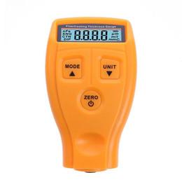 Medidor de espesor por ultrasonidos online-GM200 Ruso Medidor de Espesor Manual Digital Capa de Pintura Medidor de Espesor Medidor Película Ultrasónica Medidor de Espesor del Coche Herramienta Medidor