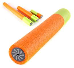 tipi di pompe ad acqua Sconti Pistola ad acqua colorata per bambini Serie a tiraggio affumicato Pompa a pistola ad acqua estratta in schiuma EVA di 3 dimensioni