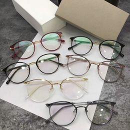 2e012d9a64 New eyeglasses frame clear lens luxury glasses frame restoring ancient ways  oculos de grau men and women myopia eye glasses frames with case