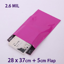 25 PCS 28x37cm Purple Self Seal Poly Mailer Postal Envelopes Packaging  Shipping Bag Envelope Plastic Mailing Bags 1a67bfe97faad
