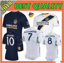 Wholesale Galaxy Grey - LA Galaxy Soccer jersey shirt 18 19 GERRARD Los Angeles Camisa KEANE GIOVANI ZARDES 9 Zlantan Ibrahimovic football jerseys shirt