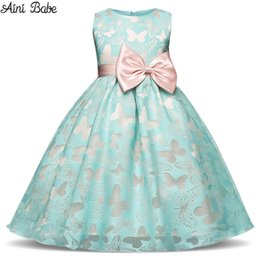 7b7667787ea Aini Babe Girls Dress New Summer Costume Fashion Kids Dress Party Princess  Dresses For Girls Children Clothing Baby Girl Clothes
