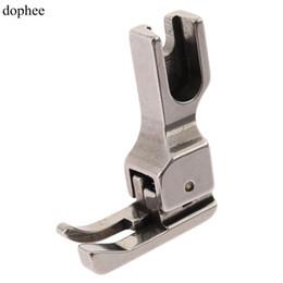 dophee 1pc pied presseur 1.6mm-9.5mm industriel machine à coudre plein acier pied droit large pour BROTHER ARTISAN ? partir de fabricateur