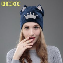 a802e7403 Shop Grey Cat Ear Beanie UK | Grey Cat Ear Beanie free delivery to ...