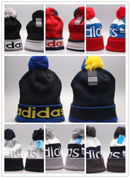 Wholesale Cheap Cycling Hats - Cheap hot winter Beanie Knitted Hats All 32 Teams baseball football basketball beanies sports team Women Men popular fashion winter hat DHL