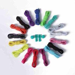 Wholesale hotels locks - Stretching shoelace Elastic Shoe laces unisexElastic Shoe laces 22 colors a pair Of Locking Running Jogging