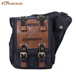 Wholesale Art Messenger Bags - KAUKKO 5L Sling Bag with Magnetic Force Buckle for Male Casual Travel Men's Crossbody Bag Luxury Men Messenger Bags Patchwork shoulder