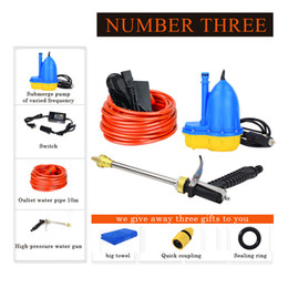 Wholesale Pump Switches - 2018 Real Sale 12v Car Wash Device Washing Machine Cleaning Water Pump Equipment Portable Washer With Expandable Hose Switch