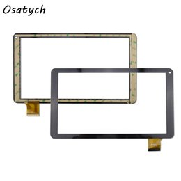 Wholesale Tablet Pc Replacement Screens - Wholesale- 10.1 inch Touch Screen for TZ13 3G Tablet PC Glass Panel Sensor Digitizer Replacement Free Shipping